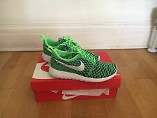 Nike Rose One Flyknit - Voltage Green / White - LCD Green - UK Size 4.5 Women's