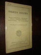 OBJETS DIVERS - Cercles et bibliothèques - Mess des sous-officiers - Coopérative
