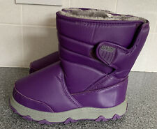 Khombu Juniper Boots Winter Snow With Thermolite Insoles Size Uk 5 Purple Eur 38