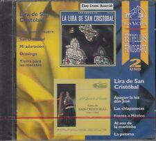 Las Estrellas Del Fonografo 2en1 Lira De San Cristobal CD New Nuevo Sealed