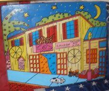 Key West Original Acrylic on Canvas Captain Tony's Saloon