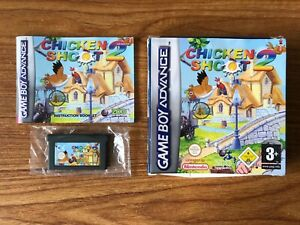 Chicken Shoot 2 (Game Boy Advance) EUR Boxed