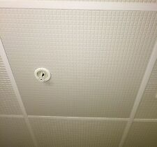 Drop Ceiling Tile - EcoTile Ingot 2' x 2' White WaterProof Lay-In Washable