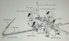 John Deere No. 4 Enclosed Gear Mower Cutter Parts Catalog Original tractor horse