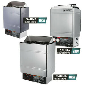 2/3/6/9KW Wet&Dry Sauna Heater Stove Internal / External Control Home Commercial