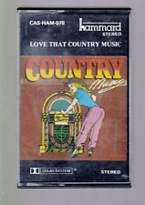 Love That Country Music - Cassette Tape. CAS-HAM-078