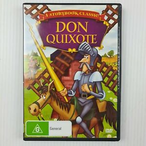 Don Quixote DVD - A Storybook Classic - All Regions - TRACKED POST