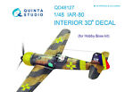 Quinta QD48127 1/48 IAR-80 3D-Printed  coloured interior for HobbyBoss kit
