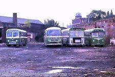 Crosville RDB836, VDB962, SJA391K, LDB757 Macclesfield 16/09/73 Bus Photo