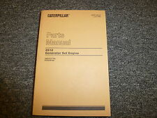 Caterpillar Cat 3512 Generator Set Engine Parts Catalog Manual Book