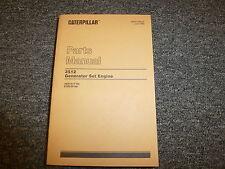 Caterpillar Cat 3512 Generator Set Engine Parts Catalog Manual Book