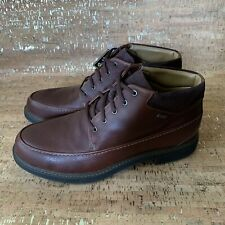 Clarks Men's UnTread Unstructured 13 Brown/Black Leather Gore-Tex Lined New