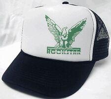 Rockstar left side Trucker Hat mesh hat snapback hat black