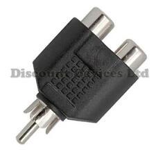 RCA Adaptor, Splitter, Coupler 2xRCA Socket - RCA Plug