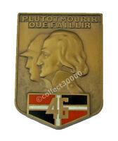 Insigne ~ (badge/insignia) ♦ MILITAIRE 46 EME REGIMENT D'INFANTERIE AB.ATLAS