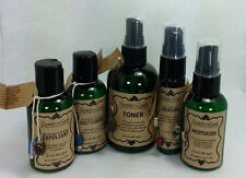 NATURAL & ORGANIC SKIN Care Products Acne~Rosacea Serum, Age Defying Toner Moist