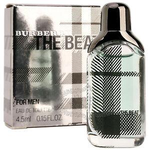 BURBERRY The Beat for Men Eau De Toilette Mini Cologne Perfume Parfum 0.15oz NIB