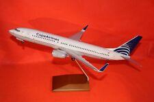 SKYMARKS 100 SKR8242 COPA A/L BOEING 737-800 DELUXE DESK TOP MODEL+STAND 1-100