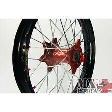 """RUOTA COMPLETA YAMAHA WR 450 F 2002-2013 KITE 2.15""""x19"""" POSTERIORE ROSSO/RED 20."""