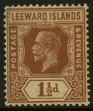 Leeward Islands  1921-32  Scott # 66  Mint Hinged