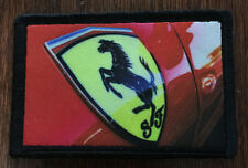 Ferrari Morale Patch Tactical ARMY Hook Military USA Badge Flag Cohiba