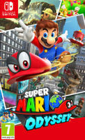 Super Mario Odyssey for the Nintendo Switch - UK Grade A+ - FAST DISPATCH