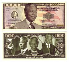 ONE MILLION DOLLARS NELSON MANDELA