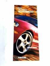 2003 Mazda Mx-5 Mx5 Miata Original Factory Accessories Car Brochure