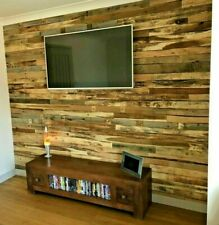 1m² Reclaimed Rustic Pallet Wood Wall Cladding Recycled Timber Planks / Boards