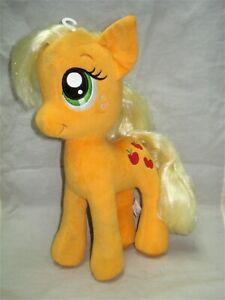 "My LIttle Pony MLP G4 APPLEJACK Plush Stuffie 2014 18"" BAB Build a Bear"