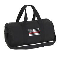 "Thin Red Line 19"" Canvas Duffle Bag Gym Shoulder Bag Rothco 2260"