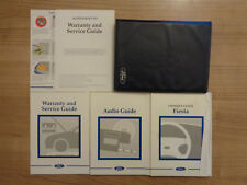 Ford Fiesta Owners Handbook Manual and Wallet 96-98