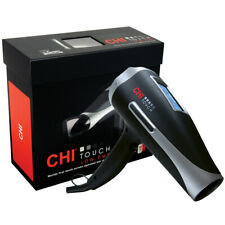 CHI Touch Low EMP Hair Dryer with Free Infra Treatment 6 oz +Volume Booster 8 oz