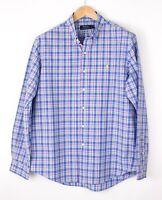 Polo Ralph Lauren Herren Freizeit Formelle Hemd Größe L BAZ217