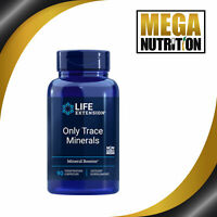 Life Extension Only Trace Minerals 90 Veggie Caps | Zinc Copper Manganese Boron
