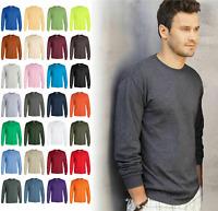 Gildan G240 100% Cotton UNISEX Crewneck Long Sleeve Unisex T-Shirt G2400 S-5XL