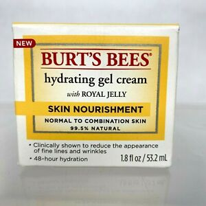 Burt's Bees Hydrating Gel Cream With Royal Jelly 1.8 FL OZ Skin Nourishment
