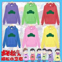 Anime Mr.Osomatsu-san Matsuno Ichimatsu Hoodie Sweater Pullover Cosplay Costume