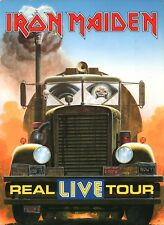 IRON MAIDEN 1993 REAL LIVE SPRING TOUR PROGRAM BOOK / BRUCE DICKINSON / NM 2 MNT