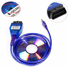 BMW USB - OBD K + Dcan Diagnostic Cable Switched INPA DIS SSS NCS Coding -2