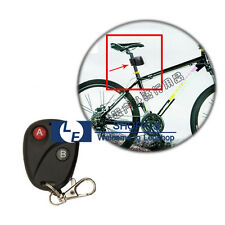 New Cycling Bicycle Bike 9V Alarm Anti-theft Lock With Wireless Remote Control
