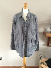 striped shirt size xxl jasper conran 100% cotton long sleeves