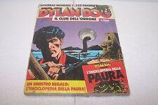 DYLAN DOG speciale n°1 - BLISTERATO, CHIUSO DALLA CASA - con all libretto sc119