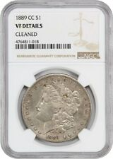 1889-CC $1 NGC VF Details (Cleaned) - Morgan Silver Dollar