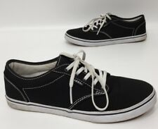 Vans Womens Black/White Casual Skate Shoes Size 8.5