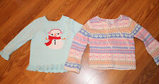 Toddler Girl FALL WINTER Clothes Lot long sleeve sweaters Gymboree sonoma  3T