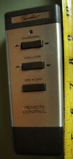 vintage television remote control: Capehart three button