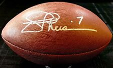 Joe Theismann Washington Redskins Signed NFL Wilson Football Comes PSA/DNA