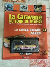 Voiture miniature Simca Océane Aspro Tour de France Norev au 1/43