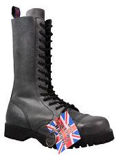 Alpha Ranger Damen Springerstiefel 14-Loch Boot Rangers Grau Grey Stiefel 5038